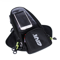 GIVI Motorcycle Oxford fuel bag mobile phone navigation bag multifunctional magnetic fixed straps fixed multi functional oil bag