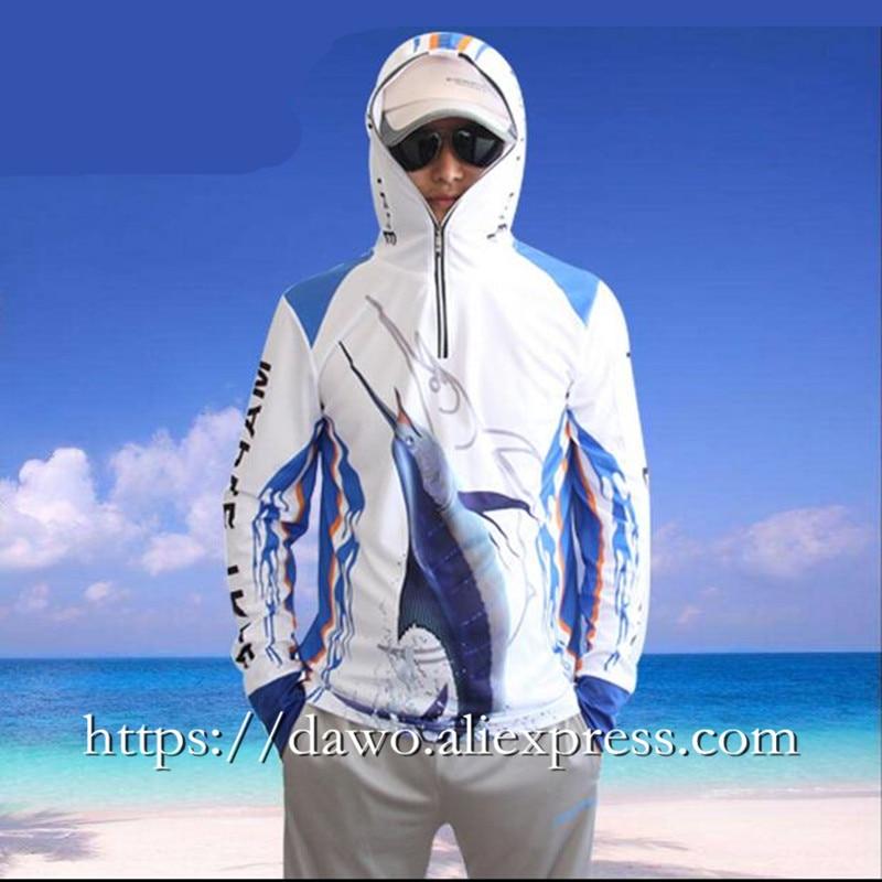 Zomer Heren vissen shirt sportkleding wandelen Klimmen zonwering - Visvangst - Foto 4