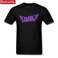 2017 Heavy Metal Vintage Black Sabbath Rock And Roll T Shirts Mens Short Sleeve Cotton Teenage