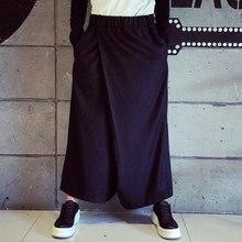 de55a74c77ee43 27-44! 2016 Nieuwe Mannen kleding Gd persoonlijkheid fashion vintage trend  toevallige broek wijde pijpen broek Plus size zanger .