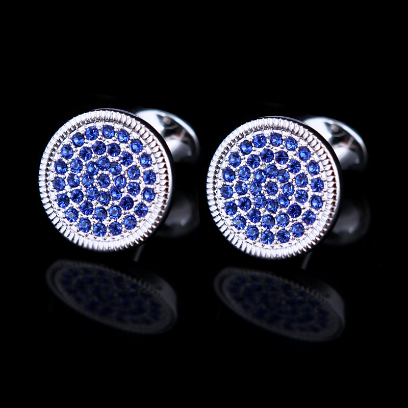 Kflk Jewelry Round Shirt Cufflinks For Men Gift Brand Cuff Button - Fashion Jewelry - Photo 2