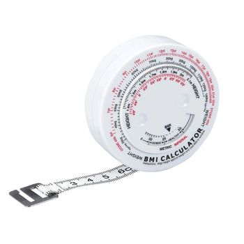 150cm Measuring Tape Body Mass Index Retractable Milestone Measures Of Weight Loss Diet Meter Metric Calculator Tools Tape Measures