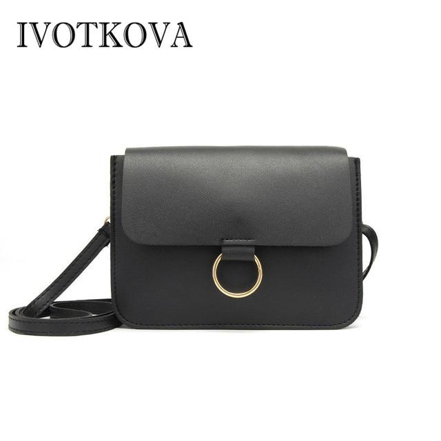 566d519b8dbf IVOTKOVA Shoulder Bag Women Designer Handbag High Quality Female Messenger  Bag Soft Artificial Leather Large Crossbody