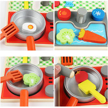 Kitchen toys set/First Set Tomato/carrot/broccoli etcKids wooden Simulation toys, Baby Educational wood