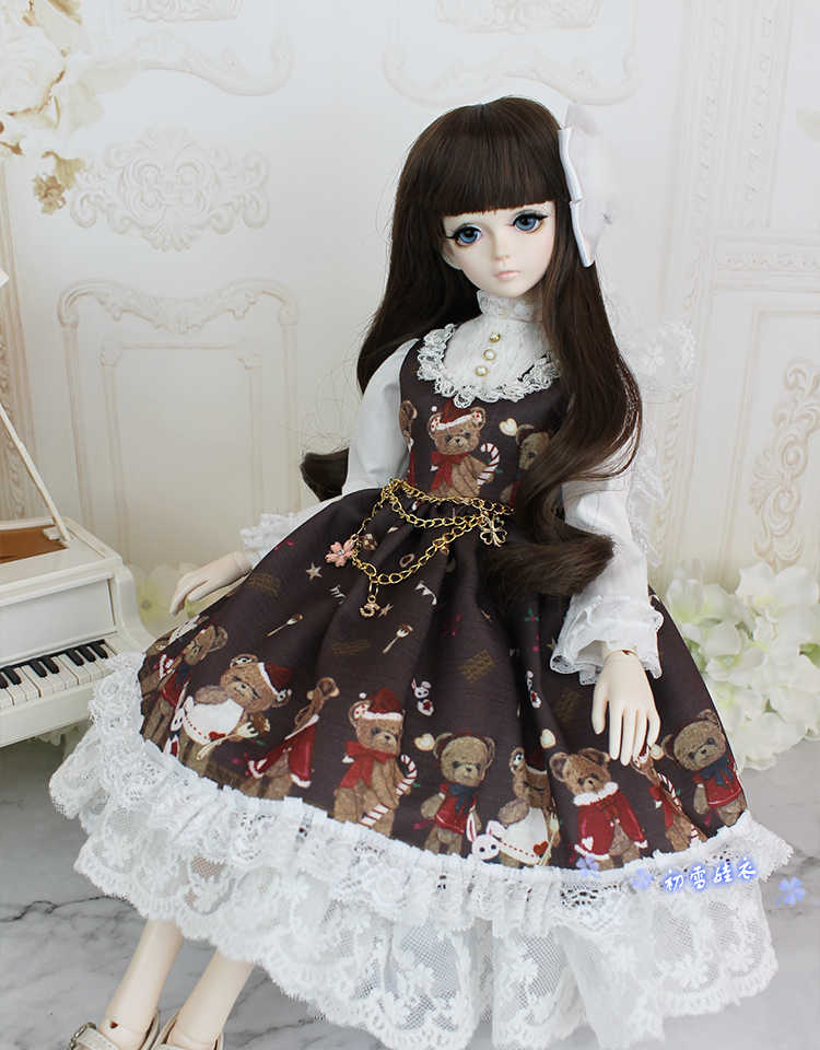 BJD Doll Clothes dress skirt Suit Outfit lolita For 1//3 1//4 1//6 SD MSD DOD BJD doll Dollfie LUTS