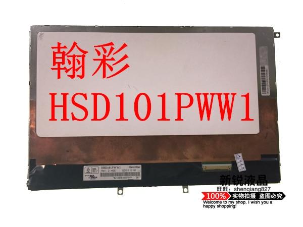Free shipping original 10.1 inch 1280*800 HSD101PWW1 A00 HSD101PWW1-A00 Rev:4 for Tablet PC OLED lcd screen display panel original konka lc40gs60dc kip l200i12c1 01 35014948 rev 00