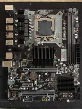 Brand new motherboard HUANAN ZHI X58 LGA1366 motherboard for CPU Intel Xeon X5675 X5670 X5660 X5650 USB3.0 PCI-E slot tested