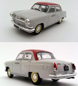 Image 2 - 1:43 scale alloy car models, high simulation Volga TAXI car toys,diecast metal model,educational toy vehicles,free shipping
