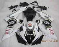 Hot Sales,oem gsxr fairings For Suzuki GSXR1000 2005 2006 Black LUCKY STRIKE Race Bike Bodyworks fairing (Injection molding)
