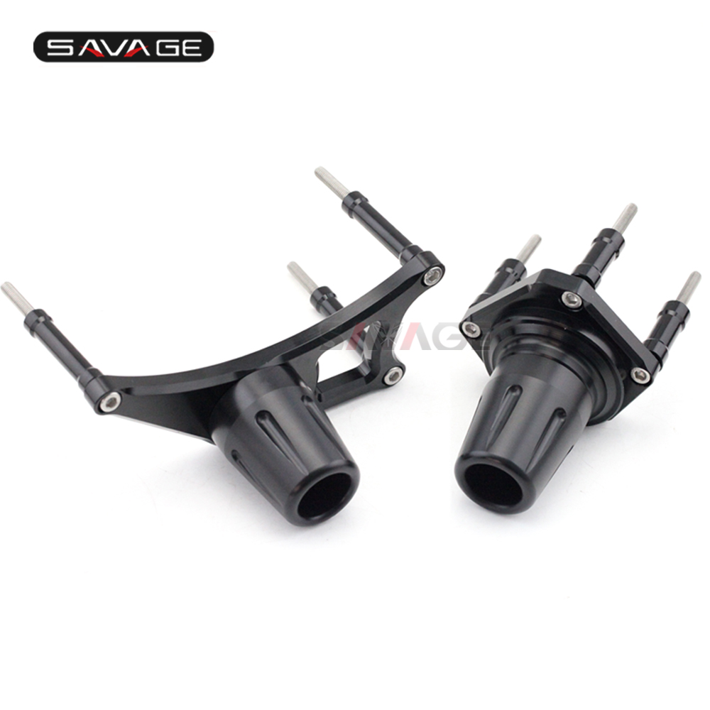 Image 2 - Frame Sliders Crash Protector Engine Guard For YAMAHA MT01 MT 01  2005 2011 06 07 08 09 10 Motorcycle Falling Protectionprotectionism