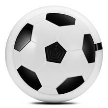18 см Красочный Светодиодный светильник мигающий футбольный мяч игрушки воздушная Мощность Футбольный диск Крытый парящий футбол скольжение открытый детская игрушка