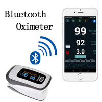 New Finger Pulse Oximeter Blood Oxygen Saturation Bluetooth Oximetro De Dedo Monitor For Health Care