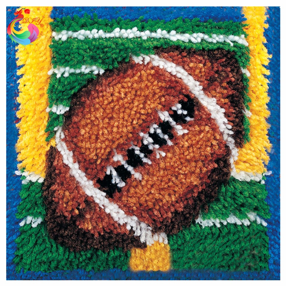 Latch Hook Rug Kits Crochet Hook Cross Stitch Thread