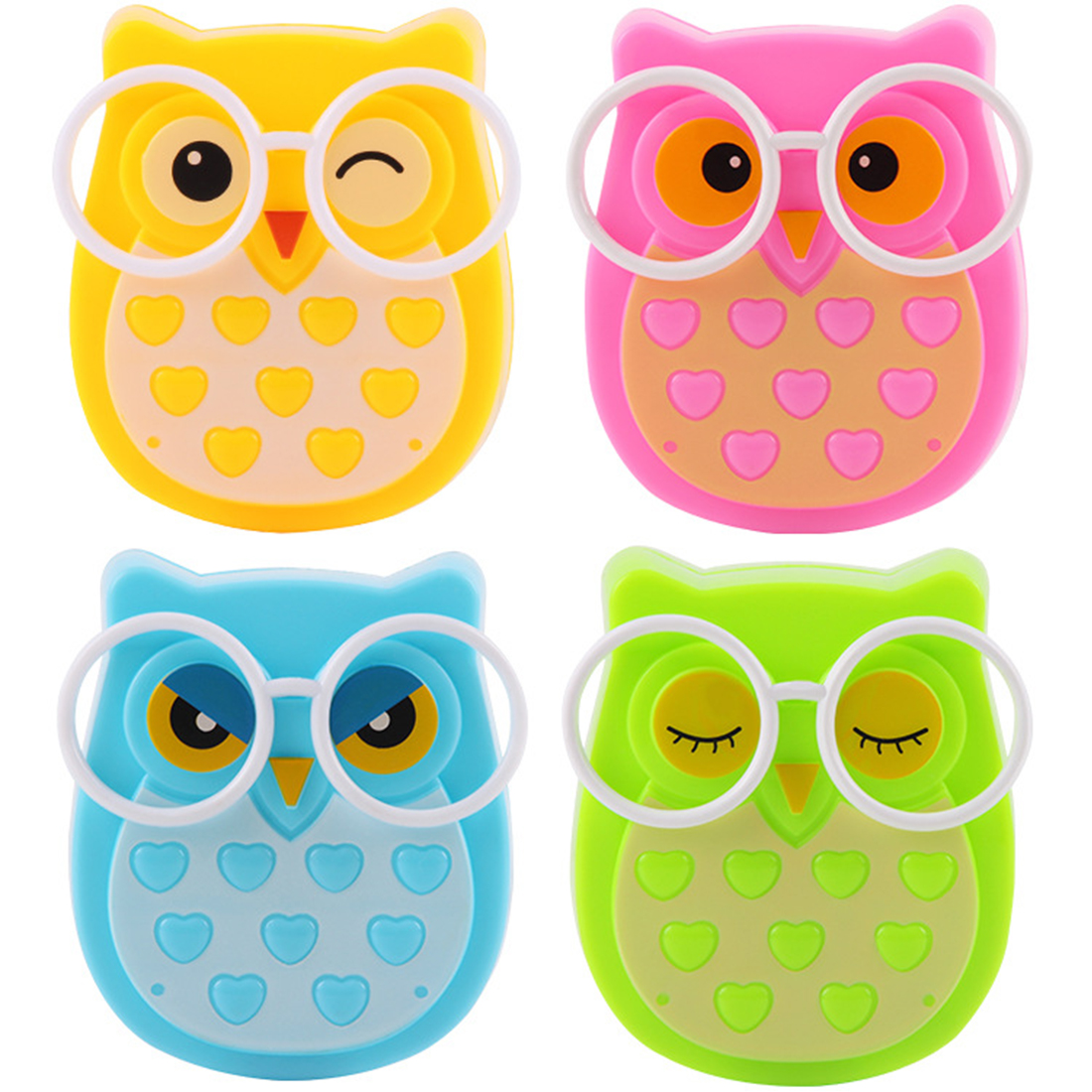 Mini Owl Led Night Light Auto Sensor Light Control Lamp US Plug Child Kids Baby Lighting Room Lamp Animal Socket