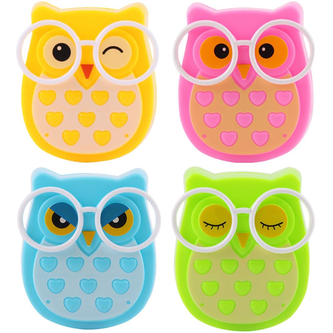 Mini Owl Led Night Light Auto Sensor Light Control Lamp US Plug Child Kids Baby Lighting Room Lamp Animal Socket