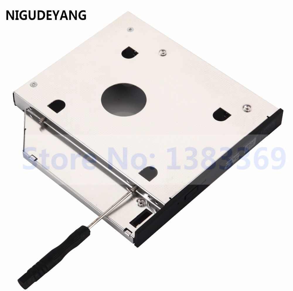 NIGUDEYANG 2nd القرص الصلب HDD SSD SATA العلبة محوّل لأجهزة لينوفو ثينكباد ايدج E530 E530c E535