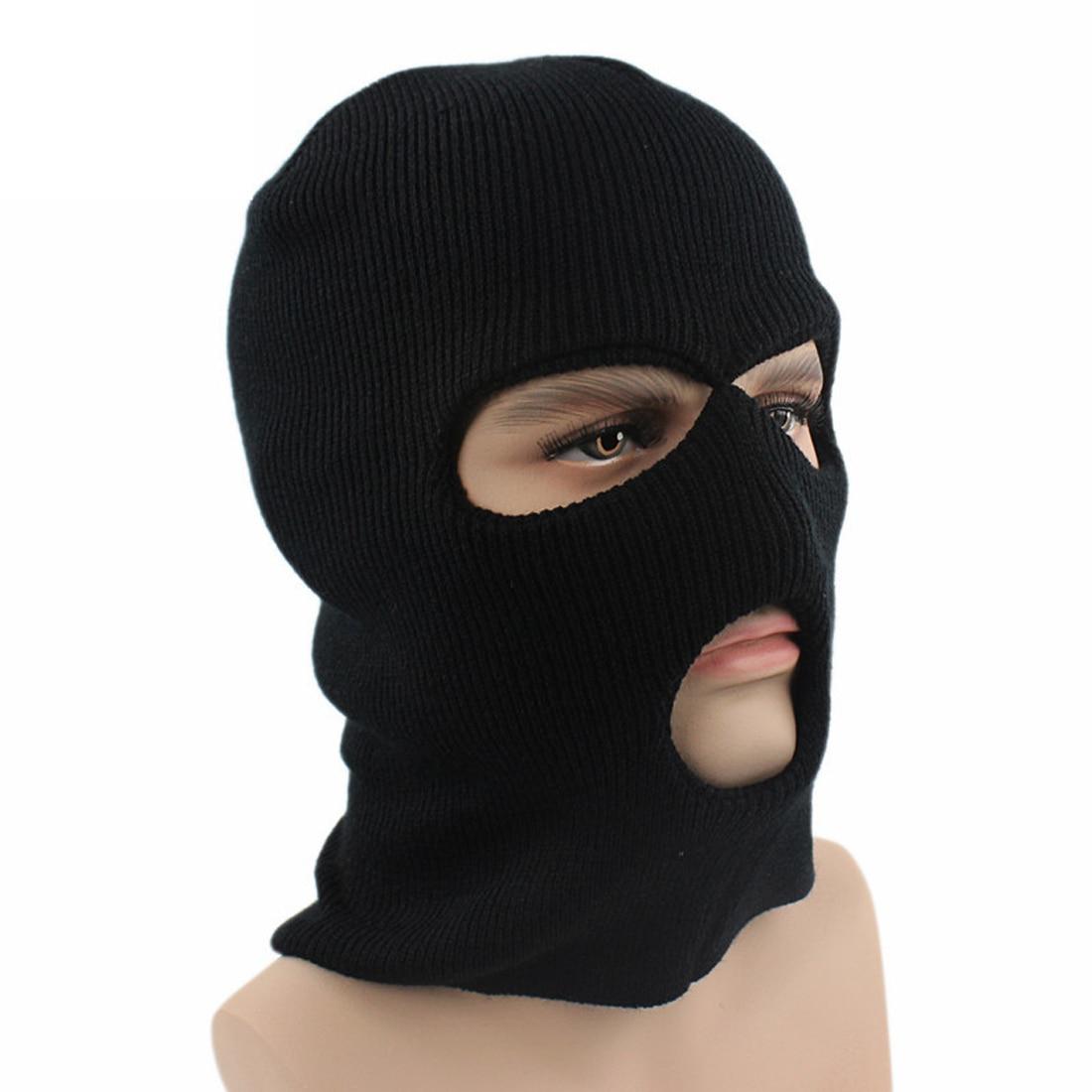 Fleece Hood Winter Hat Men   Skullies     Beanies   Hats For Men Women Wool Scarf Mask Hat Caps Balaclava   Beanie   Knitted Hat Male