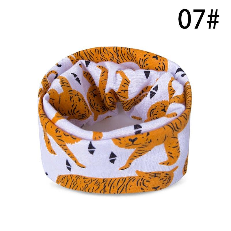 Модный шарф на Шею Зимние теплые Детские шарф из хлопка для обувь девочек мальчиков толстые теплые кольца шарфы женщин дети комфорт Унис - Цвет: G