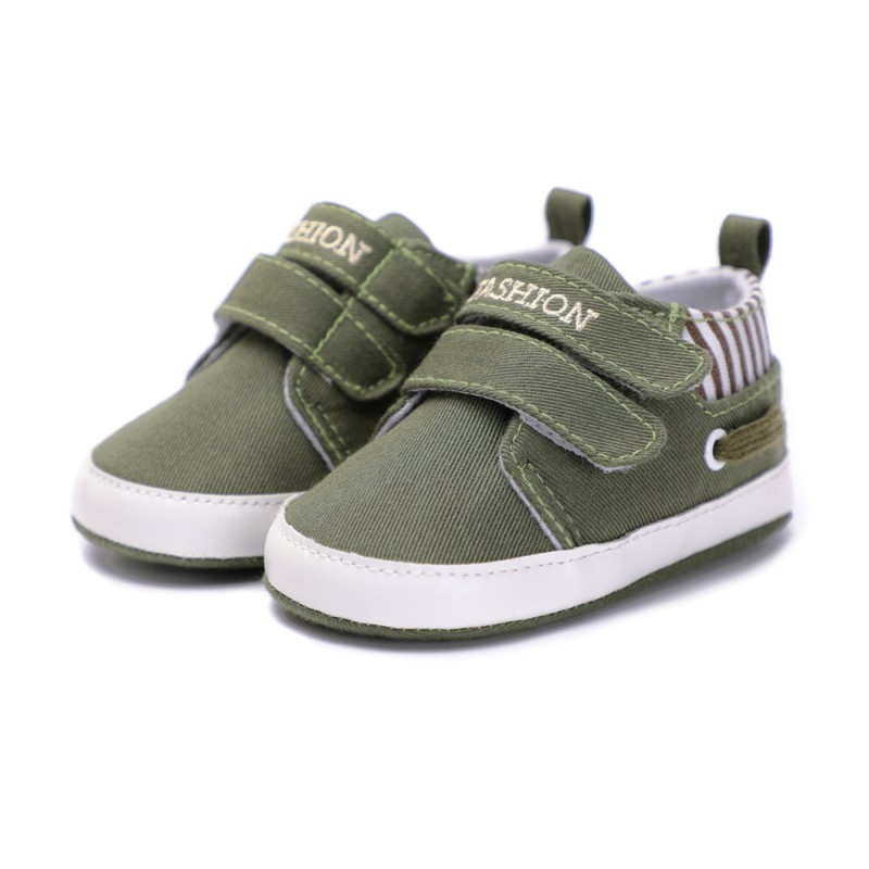 New Baby Boys Girls Canvas Shoes High Quality Two Strap Newborn Baby Toddler Fashion First Walkers For 0 18 Month