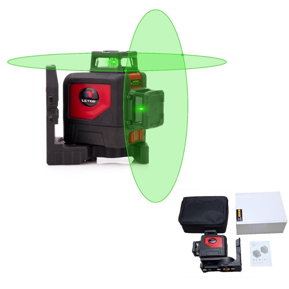 NEW LETER Cross line Self leveling 360 degree laser line Green line laser laser цены