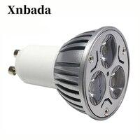 10 PCS Modern GU10 3W LED Spot Light Bulb Lighting For Home Party Decoration, Hotels, Clubs, Shopping Malls 85V 220V