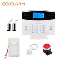 English Russian French Spanish Wireless Gsm Auto Dial Alarm Security Anti Burglar For Home Security PIR