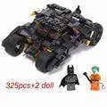 325 unids nuevos Comics Super Heroes Batman serie El Vaso coche modelo Building Blocks classic Compatible Legoed Conjunto de Juguete