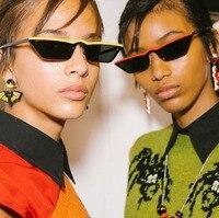 Daoying Brand Designer Small Square Female Sun Glasses Personality Sexy Women Triangle All Match Sunglasses UV400
