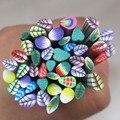 50 piezas de 3d Fimo de Arte de uñas de bastones de nueva llegada de moda de belleza uñas decoraciones DIY F004