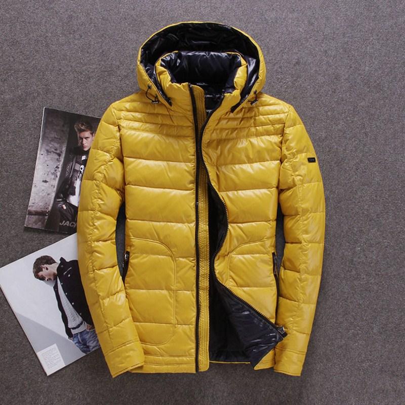 Winter donsjack mannen Europa en USA minus 40 graden warm duck donsjack Echt wasbeer bontkraag jas maat 46 54 B105 - 3