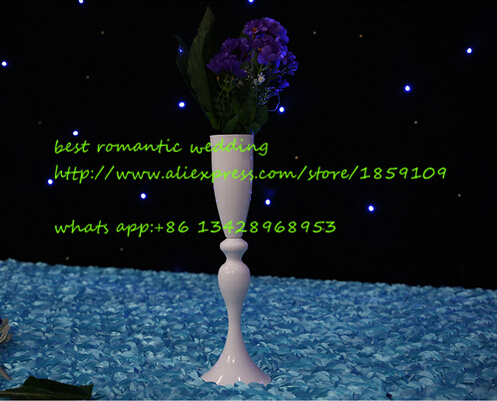 Candle Holder Wedding Centerpiece White Flower Stand Wedding