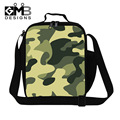 Fashion Cool Thermal Lunch Bag Children Camouflage Food Storage Kids Camo Lunch Bags For Boys Girls Lunchbox For Kids Adult