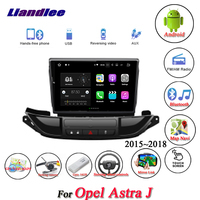 Liandlee Car Android System For Opel Astra J 2015~2018 Radio AUX Mirror link GPS Navi Navigation HD Stereo Multimedia No CD DVD