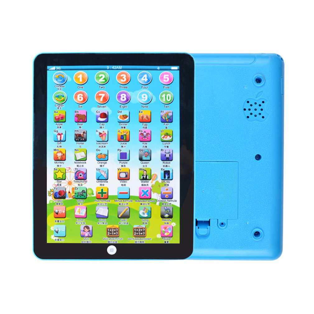 Early Childhood Learning English Machine Computer Learning Education Machine Tablet Toy Gift For Kid Learning Language