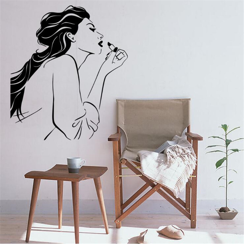 IDFIAF 1PCS The Beauty Design Classic Retro Rouge Bar Decoration Posters  Posters Decorate DIY Artists In Wall Stickers From Home U0026 Garden On  Aliexpress.com ... Amazing Pictures