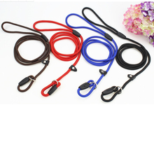 1 pcs Pet Dogs Leash Rope Nylon Adjustable Training Lead Dog Basic Strap Traction Harness Collars Chains