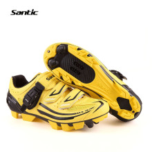 Santic MTB Cycling Shoes zapatillas ciclismo Bicycle cycling Shoes Men Cleated Shoes zapatos Bike Mens Cycling Shoes S12011Y