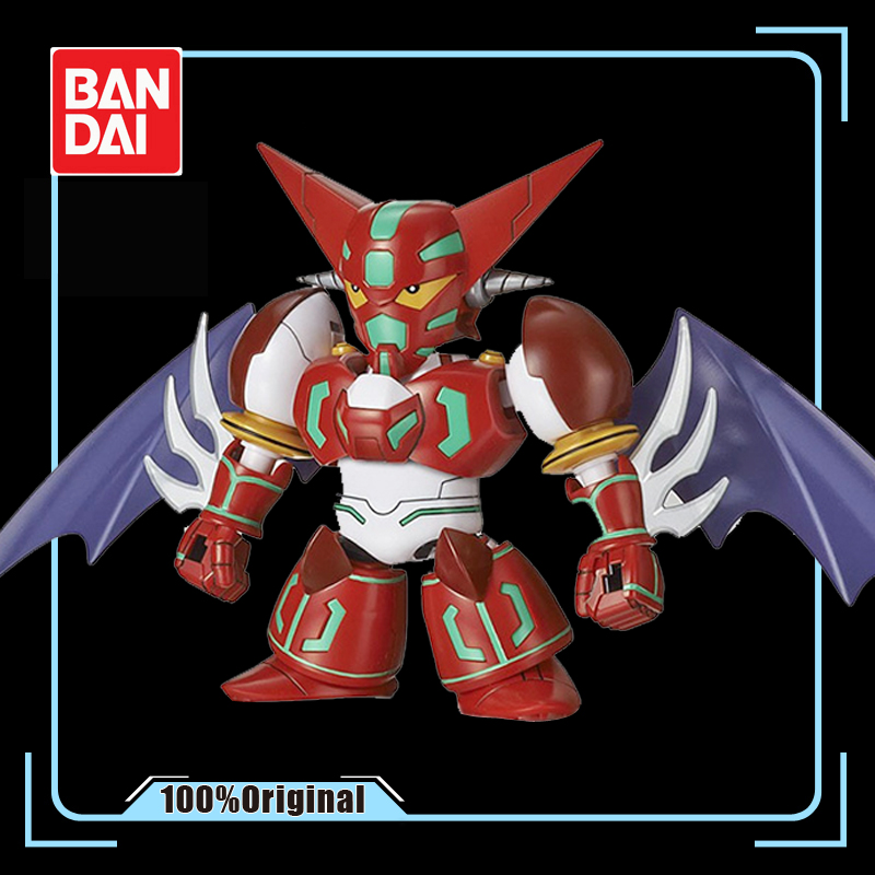 BANDAI <font><b>BB</b></font> SDCS Super Robot King Getter Robo <font><b>GUNDAM</b></font> Action Figure Model Modification Deformable image