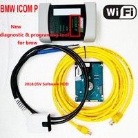 2018 Новинка! Wi Fi ICOM P для BMW диагностики и программирования инструмент совместим с ICOM следующего нового поколения ICOM A2 с HDD ista p
