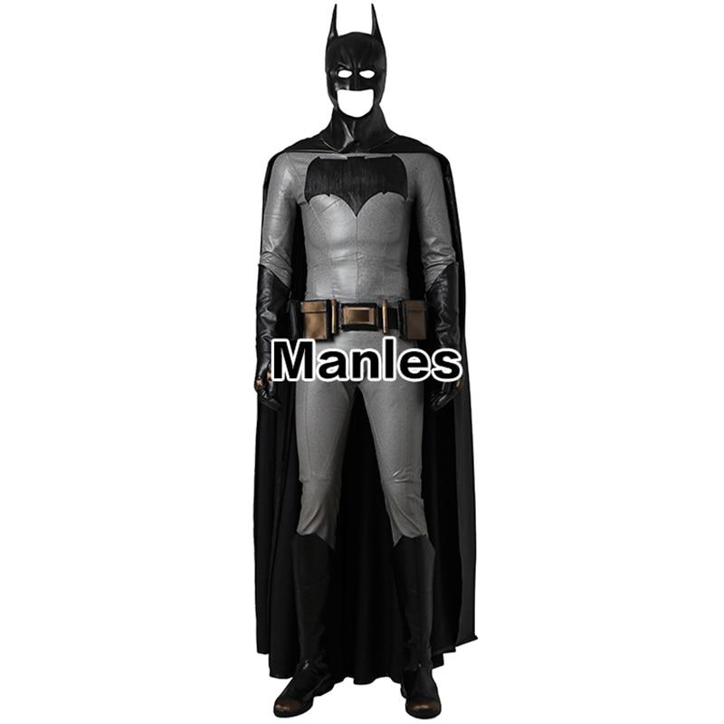 Batman v Superman Dawn of Justice Batman Cosplay Costume Superhero Bruce Wayne Halloween Movie Adult Men Accessories Only Cloak