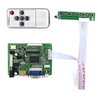 HDMI VGA 2AV Reversing LCD Driver Board Work For 7inch AT070TN92 800 480 Lcd Display