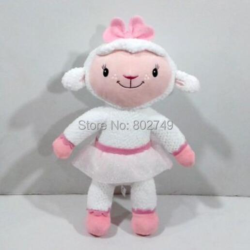Doc McStuffins Lambie Jumbo Plush Plush Toys 30cm Cute Lambie Sheep Plush