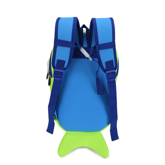 Kid's Cute Fish Colorful Backpack 5