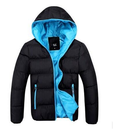 Inverno jaqueta de algodão amassado, outono inverno quente grossa dos homens homens jacketsPlus Size XXXL navio da gota N-7