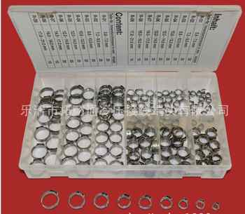 Free shipping Pipe Clamp High Quality 170 PCS Stainless Steel 304 Single Ear Hose Clamps Assortment Kit Single - DISCOUNT ITEM  17% OFF All Category