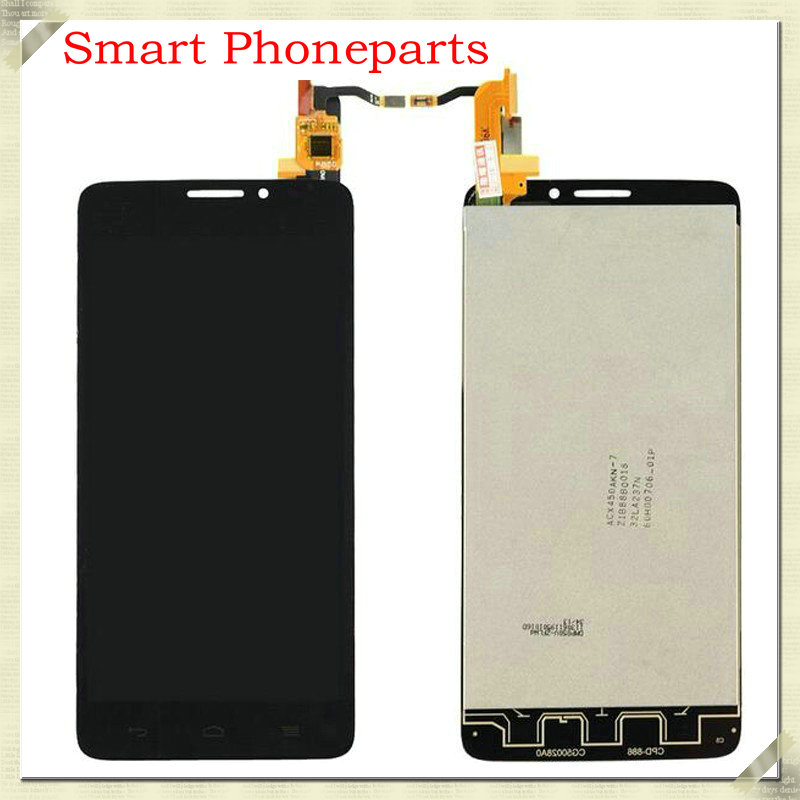 100 New For Alcatel One Touch Idol X OT6040 6040 6040D 6040E 6040A 6040X LCD Display