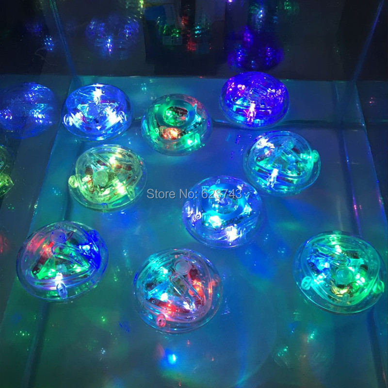 20pcs/lot Color Changing Waterproof In Tub Bath Time Multicolor Light Bathtub Lamp Baby Bath Toy Light Kids Bathroom Lamp