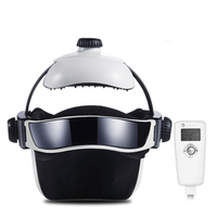 New Electric Head Massager Brain Massage Adjustable Size Instrument Helmet With Music Head Massage Life Relaxation