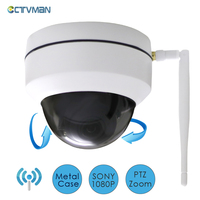 CTVMAN Mini Camera Wifi Dome PTZ Security Wireless Outdoor CCTV Cameras 3X Zoom 960P 1080P Pan