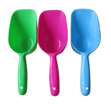 1pc 3 Colors Pet Dog Puppy Cat Bird Ferret Rabbit Food Plastic Feeder Scoop Shovel Spade Dishes Tool Pet Products Dog Supplies(China)